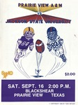 Sep 15, 1989-Prairie View A&M vs Jackson State