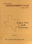 Development Plan - College of Education 1981-87