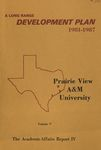 Development Plan - College of Engineering 1981-87 by Prairie View A&M University