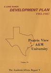 Development Plan - College of Home Economics Report 1981-87