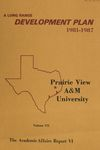 Development Plan - College of Industrial Education and Technology Report 1981-87