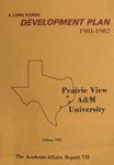 Development Plan - College of Nursing 1981-87
