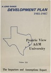 Development Plan - Impactors and Assumptions Report 1981-87 by Prairie View A&M University