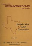 Development Plan - Public Service and Continuing Education 1981-87