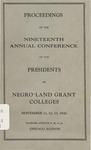 President 19th Annual Conference - Nov 1941