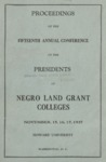 President 15th Annual Conference - Nov 1937