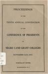 President 10th Annual Conference - Nov 1932