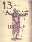 Mr. Prairie View A&M Scholarship Pageant April 7, 1999 by Prairie View A&M University