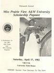Miss Prairie View A&M Scholarship Pageant April 17, 1982 by Prairie View A&M University