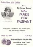Miss Prairie View Pageant April 28, 1971 by Prairie View A&M College