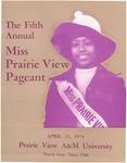 Miss Prairie View Pageant April 25, 1974