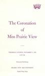 Coronation of Miss Prairie View November 4, 1976 by Prairie View A&M University