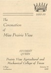 Coronation of Miss Prairie View January 14, 1956