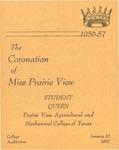 Coronation of Miss Prairie View January 12, 1957