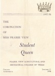 Coronation of Miss Prairie View January 11, 1958