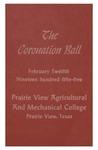 Coronation of Miss Prairie View February 12, 1955 by Prairie View A&M College