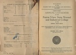 Annual Catalog - The School Year 1923-1924 by Prairie View State Normal & Industrial College