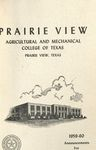 Catalog Edition Graduate and Undergraduate - The School Year- 1959- 60 by Prairie View Agricultural And Mechanical College