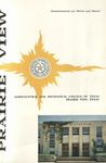Announcement Graduate and Undergraduate - The School Year 1963-65 by Prairie View Agriculture & Mechanical College