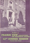 Summer Session - The School Year 1952 by Prairie View Agricultural and Mechanical College