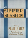 Summer Session - The School Year 1955 by Prairie View Agricultural and Mechanical College