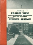 Summer Session - The School Year 1953 by Prairie View Agricultural and Mechanical College
