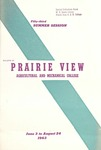 Summer Session - The School Year 1963 by Prairie View Agricultural and Mechanical College