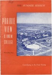 Summer Session - The School Year 1966 by Prairie View Agricultural and Mechanical College