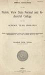 Annual Catalog - The School Year 1909-1910