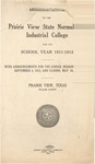Annual Catalog - The School Year 1911-1912