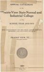 Annual Catalog - The School Year 1912-1913