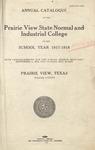 Annual Catalog - The School Year 1917-1918
