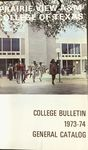 General Catalog - The School Year 1973-1974 by Prairie View Agricultural And Mechanical College