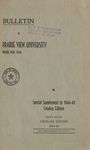 Catalog Edition - The School Year 1944-45 by Prairie View University