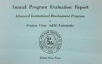 Annual Program Evaluation Report - June 30, 1977