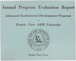 Annual Program Evaluation Report - July 15, 1978
