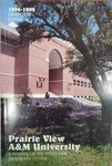 Graduate Catalog - The School Year 1996-1998 by Prairie View A&M University