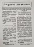 The Prairie View Standard - February 1930