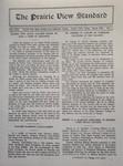 The Prairie View Standard - March 1930