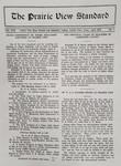 The Prairie View Standard - April 1930