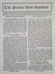 The Prairie View Standard - January 1932