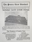 The Prairie View Standard - July 1932