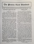 The Prairie View Standard - October 1932 by Prairie View State Normal and Industrial College