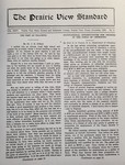 The Prairie View Standard - November 1932 by Prairie View State Normal and Industrial College