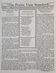 The Prairie View Standard - November 1933 by Prairie View State Normal and Industrial College