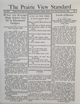 The Prairie View Standard - February 1934 by Prairie View State Normal and Industrial College