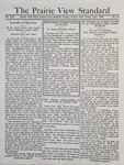 The Prairie View Standard - June 1934 by Prairie View State Normal and Industrial College