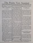 The Prairie View Standard - September 1934