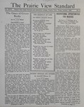 The Prairie View Standard - October 1934