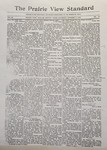 The Prairie View Standard - October 2nd 1926 by Prairie View State Normal and Industrial College